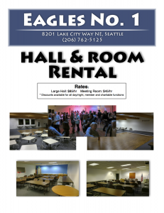Eagles Hall Rental
