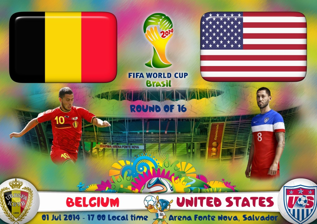 Belgium vs USA World-Cup-2014
